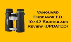 Vanguard Endeavor ED 10×42 Binoculars Review
