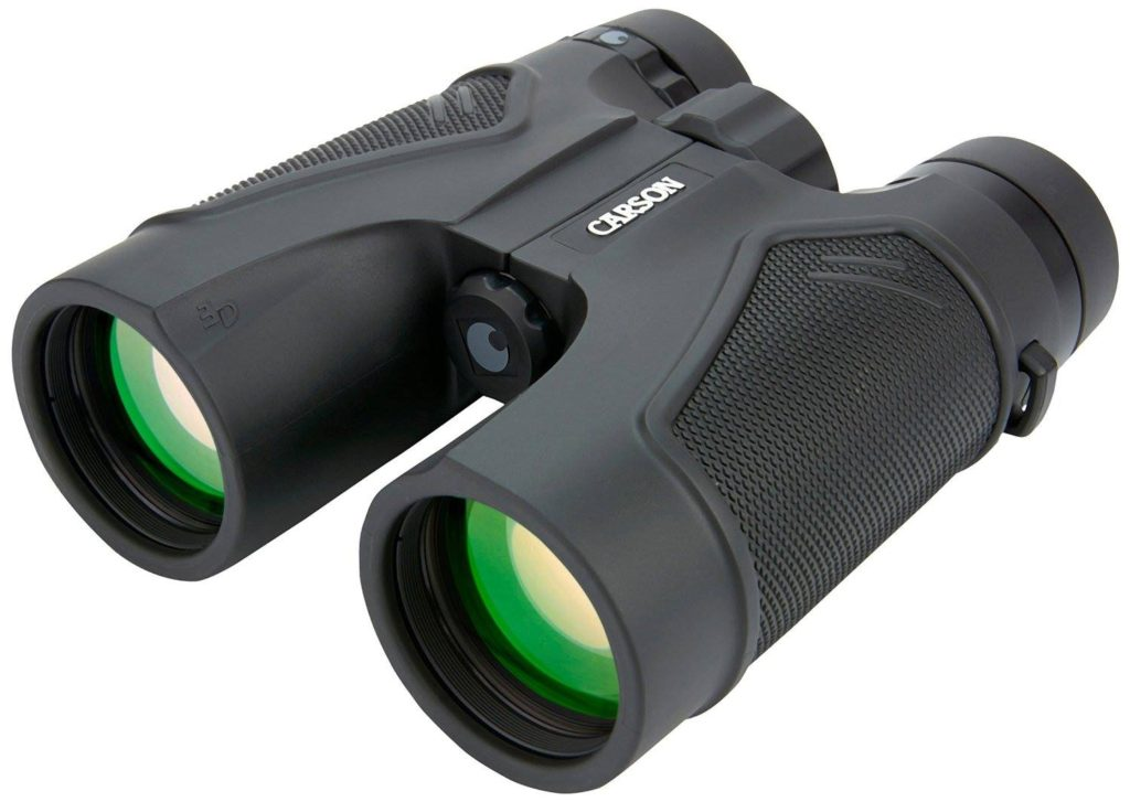 The Carson 3D Series High Definition Waterproof Binoculars with ED Glass.