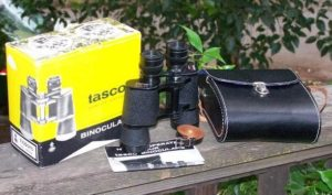 Who makes Tasco binoculars?