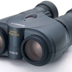 canon 8x25 is image stabilized binoculars review